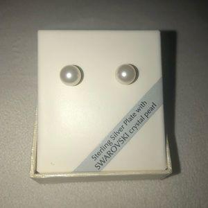 Sterling Silver Plate Earrings